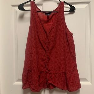 Gap Red Blouse S